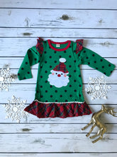 Santa Polka Dot Dress