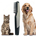 Hair Trimmer Dog Electrical Cuts Dogs Cat Hair Beauty Pet Knot Out Cuts Tangles Comb