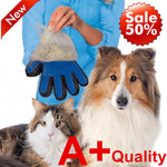A+ Quality True Touch Silicone Five Finger Deshedding Glove Pet Dog Cat Grooming Bath Brush Delivery Time:19-39days