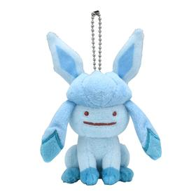 Ditto Transform Glaceon Keychain - Poke Plush Australia