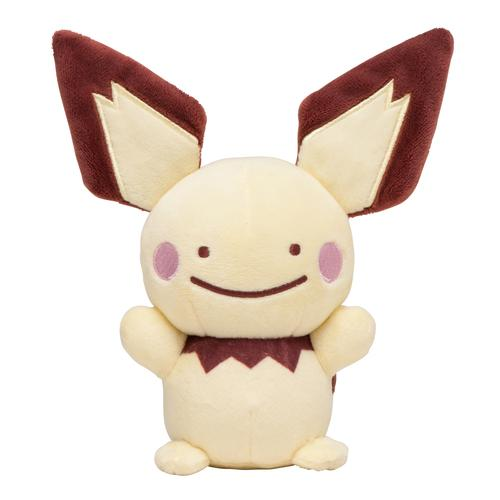 Pokemon Center Ditto Transform Pichu Plush Toy - Poke Plush Australia