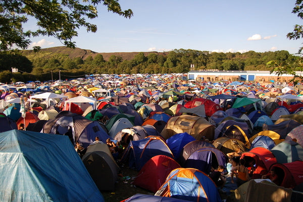 A Beginners Guide to Camping - Festival Camping