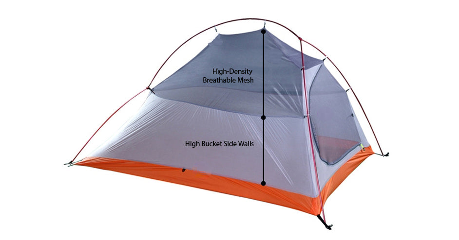 Gear Review on Illumina Amber X Hiking Tent