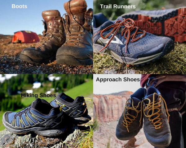 A Beginners Guide to Camping - Shoes
