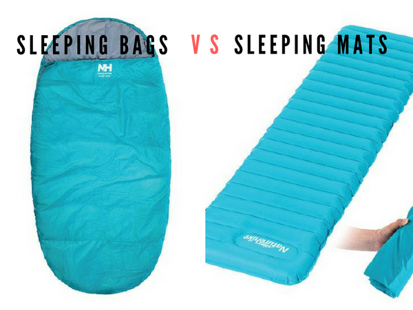 A Beginners Guide to Camping - Sleeping Bag vs. Sleeping Mat