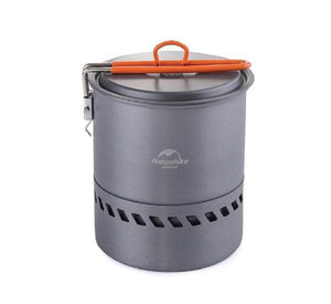 Heat Efficient Camping Pot for Lightweight Hiking-Novaprosports