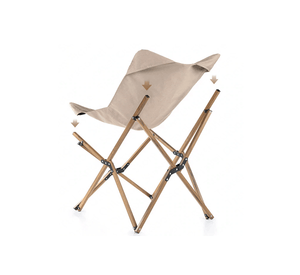 Lightweight Foldable Camping Chair - Khaki-Novaprosports