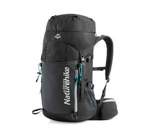 Hiking Backpack Lightweight 45L - Black-Novaprosports