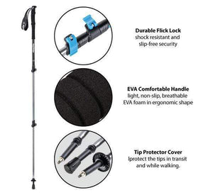 Lightweight Trail Trekking Pole Adjustable – Men's-Novaprosports