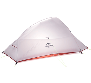 Cloud Up 2 - 1.4kg Ultralight Hiking Tent - Light Grey Upgraded-Novaprosports