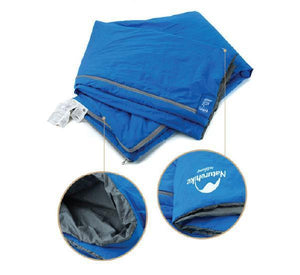 Compact Ultralight Sleeping Bag Naturehike 0.72kg – Sky Blue-Novaprosports