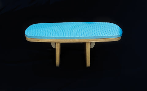 "6"" Tall Blue Swizzle Stool (Best for most people)"