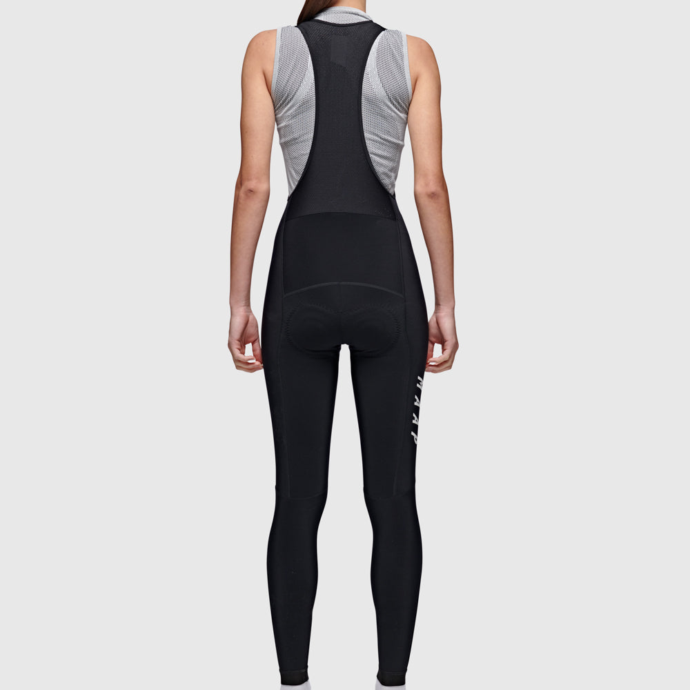 Women's Team Thermal Bib Tights - Black