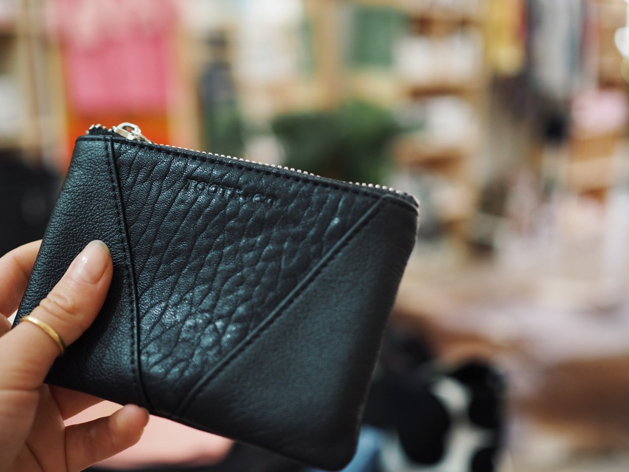SET The Ultimate Cross Body / Family Travel Wallet + Perfect Coin Purse - Matt Black Full Grain Leather