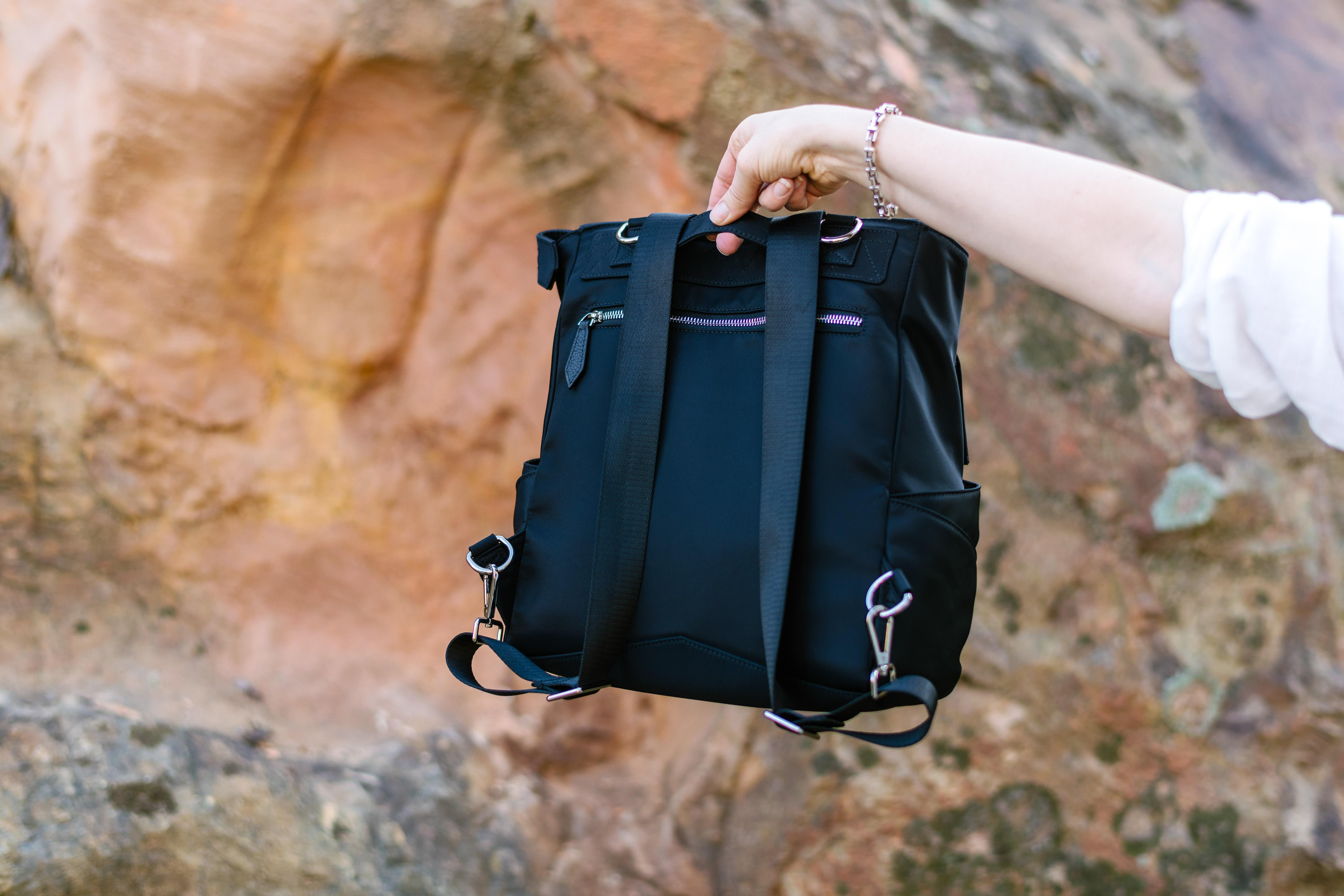 Everything Slide Backpack + Crossbody