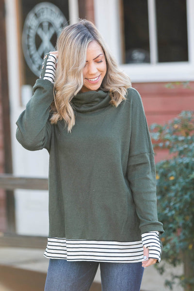 Brooklyn Thermal Cashmere Thumbhole Tunic