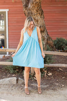 Sky's The Limit Sleeveless Dress