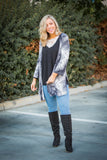 Faded To Perfection Kimono Cardigan