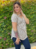 Honey Oats Short Sleeve Top