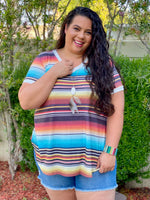 Cabo Serape High-Low Top