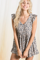 Fiercely Beautiful Babydoll Top