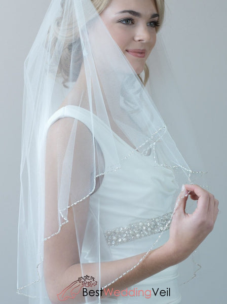 2-layers-beaded-wedding-veil-with-blusher-fingertip