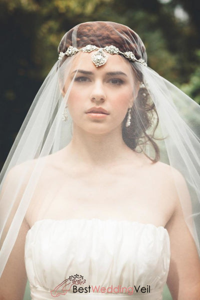Bohemia Style Wedding Dress Veil Custom Made