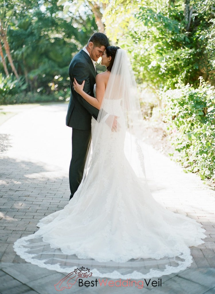 Fantastic Unique Wedding Hairstyles Veil With Partial Lace Trim Schematic Wiring Diagrams Amerangerunnerswayorg