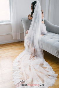 alencon-lace-trim-long-ivory-veil-for-wedding