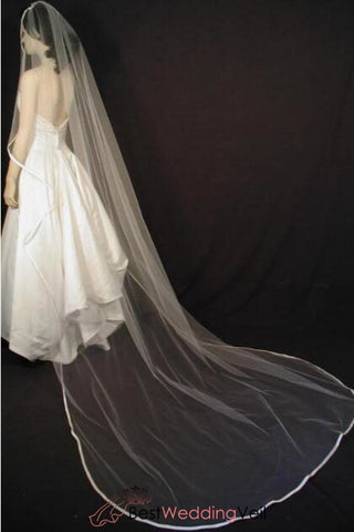 angel-cut-cathedral-bridal-veil-with-1-4-folded-satin-ribbon
