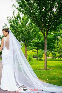 beautiful-long-soft-cascade-wedding-veil-with-comb