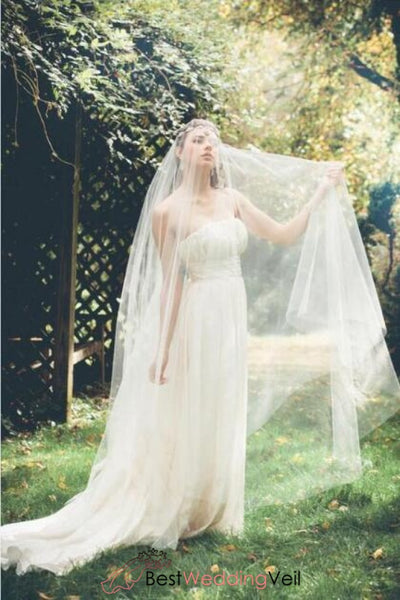 bohemia-style-wedding-dress-veil-custom-made