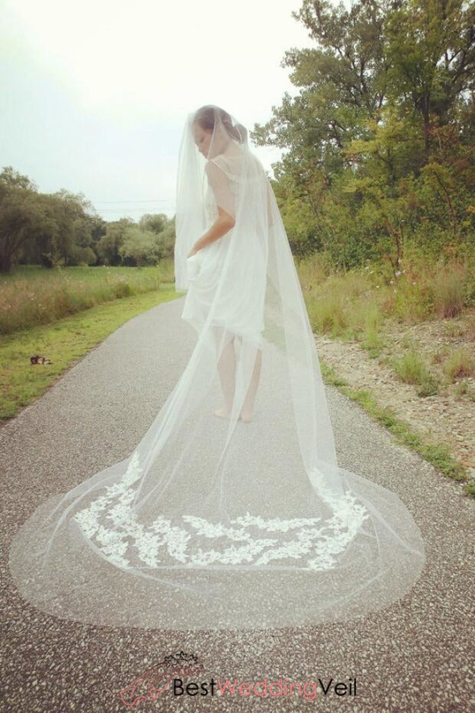 cathedral-veil-with-blusher-layer-embroidered-lace-flowers-veils-wedding