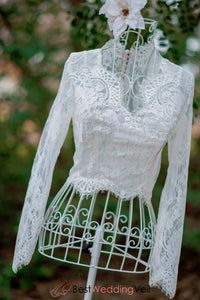 chantilly-lace-wedding-topper-v-neck-long-sleeves-bride-bolero