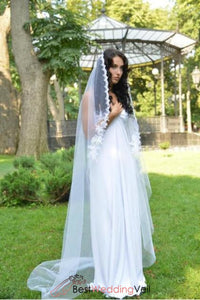 chapel-length-mantilla-bride-lace-wedding-veil-with-beads-appliqued-edge