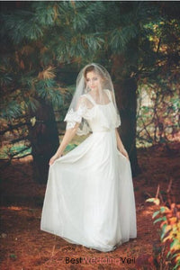 charming-elbow-length-alencon-lace-blusher-birdal-veil-short