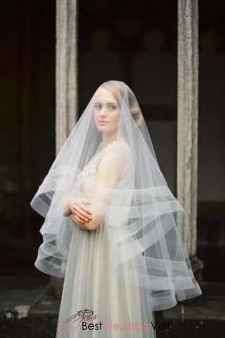 circle-drop-style-bridal-veil-with-blusher-double-nylon-tulle-ribbon