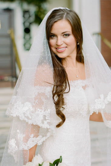 dotted-tulle-cathedral-wedding-veil-two-layers-tulle-3