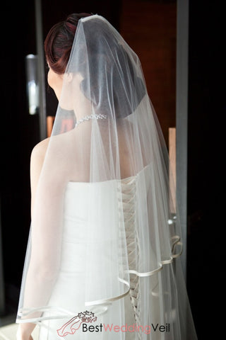 double-tiers-tulle-narrow-ribbon-wedding-veil-with-comb