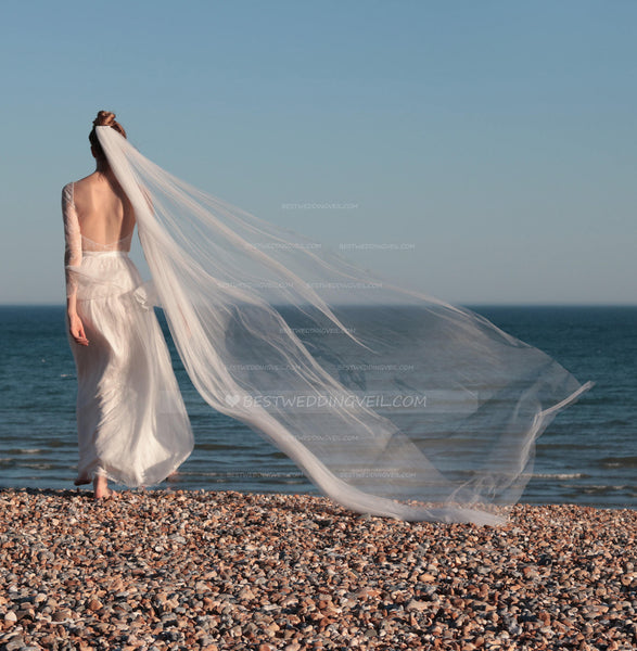 draping-style-bohemian-wedding-veil-single-tier-tulle-1