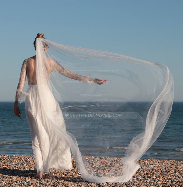 draping-style-bohemian-wedding-veil-single-tier-tulle-2