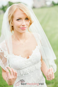 elegant-tulle-elbow-length-simple-bridal-veil-with-comb