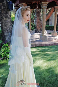 fingertip-length-alencon-lace-trim-bridal-wedding-veil