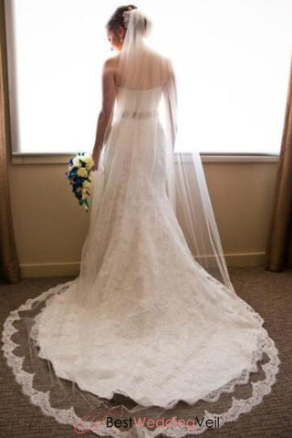 french-alencon-lace-tulle-wedding-veil-cathedral-length