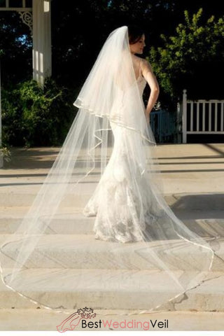 full-cathedral-wedding-veil-drop-style-with-satin-edge-blusher-layer