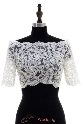 full-lace-wedding-jacket-off-shoulder-short-sleeves-bridal-separates