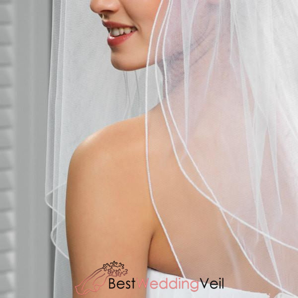 Three Tier Tulle Wedding Bridal Veils With Comb Veil