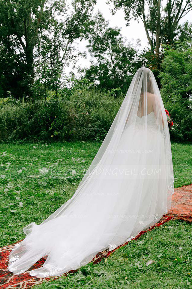 irregular-appliques-edge-long-wedding-veil-without-comb