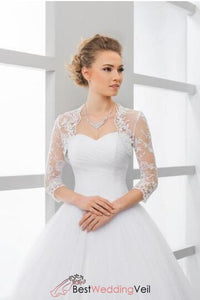 lace-3-4-sleeve-bridal-shrug-bolero-in-ivory-or-white