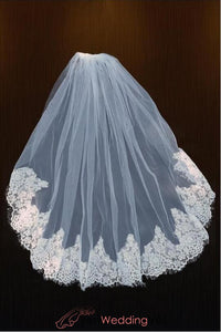 lace-elbow-length-wedding-veil-one-tier-with-attached-comb